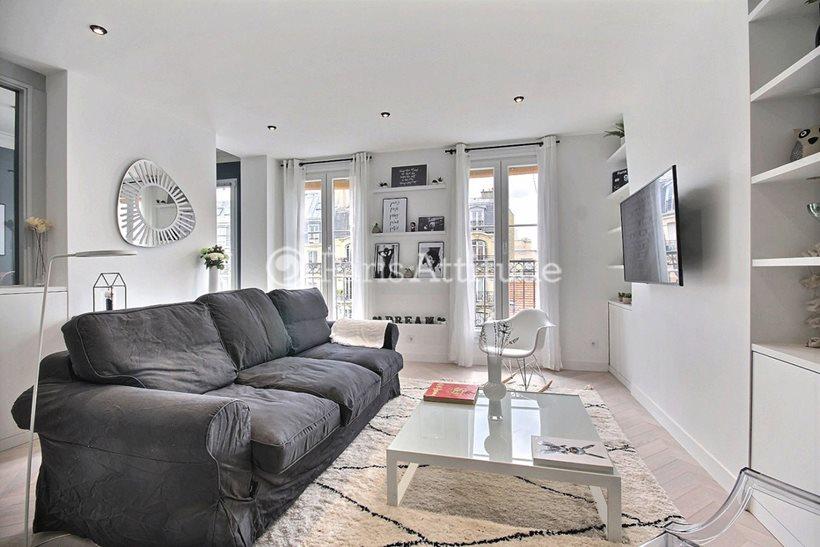 Rent furnished Apartment 2 Bedrooms 68m² avenue Parmentier, 75011 Paris