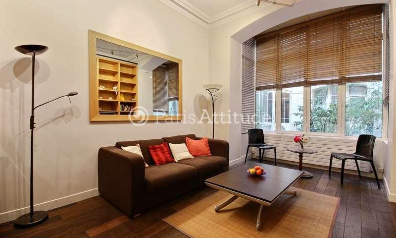Rent Apartment 1 Bedroom 37m² rue du General Foy, 8 Paris