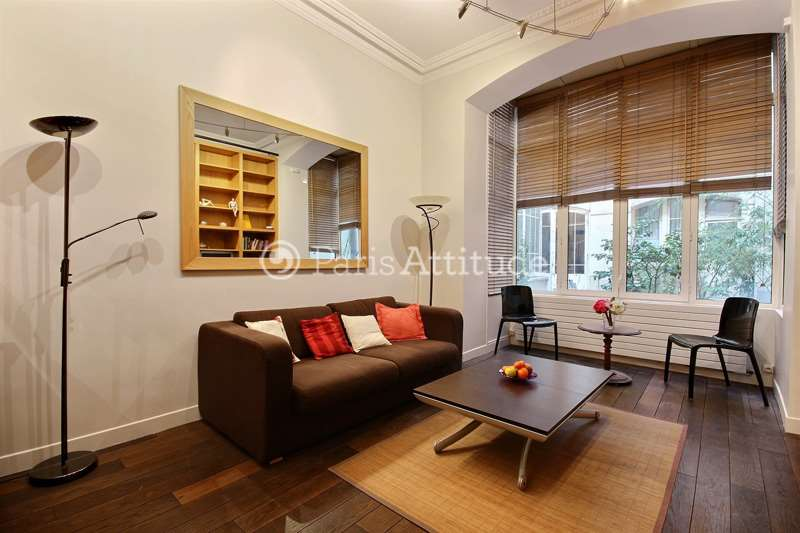 Rent furnished Apartment 1 Bedroom 37m² rue du General Foy, 75008 Paris