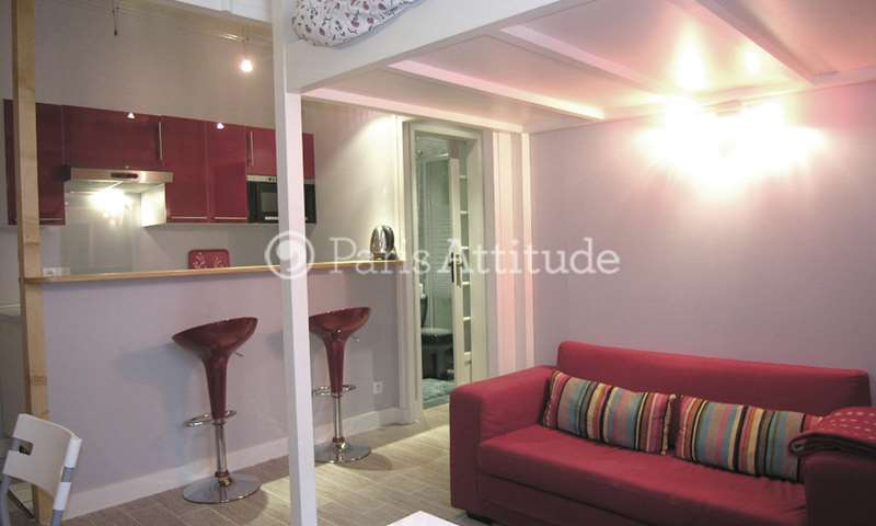 Rent Apartment Studio 25m² boulevard Pereire, 75017 Paris