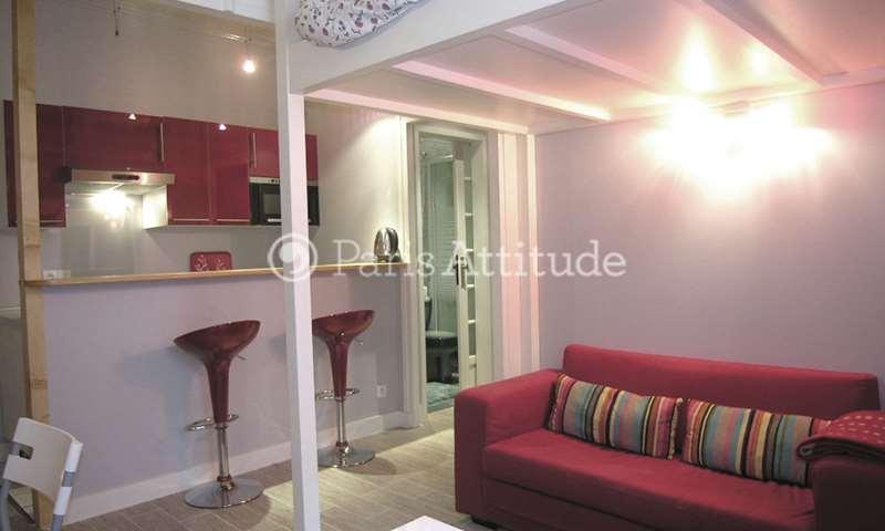 Rent Apartment Studio 25m² boulevard Pereire, 17 Paris