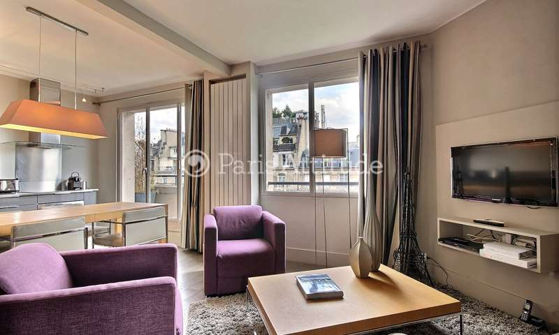 Rent Apartment 1 Bedroom 43m² boulevard Delessert, 75016 Paris