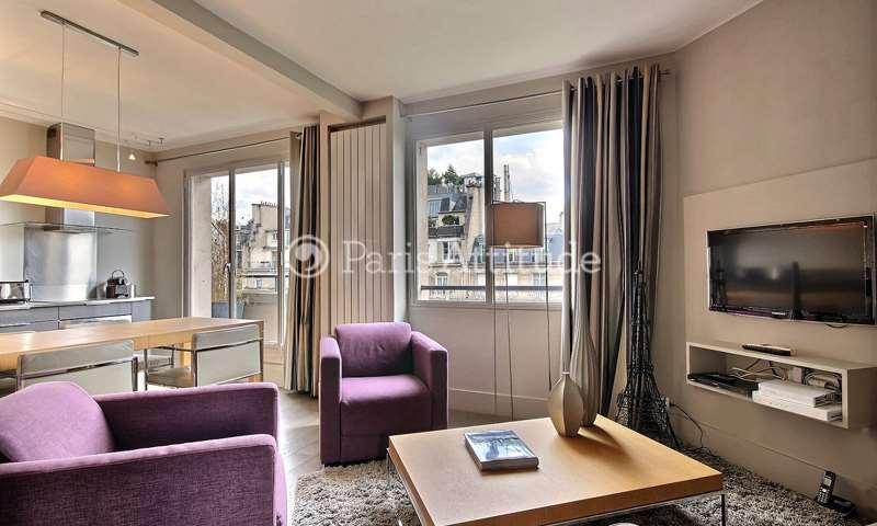 Aluguel Apartamento 1 quarto 43m² boulevard Delessert, 16 Paris