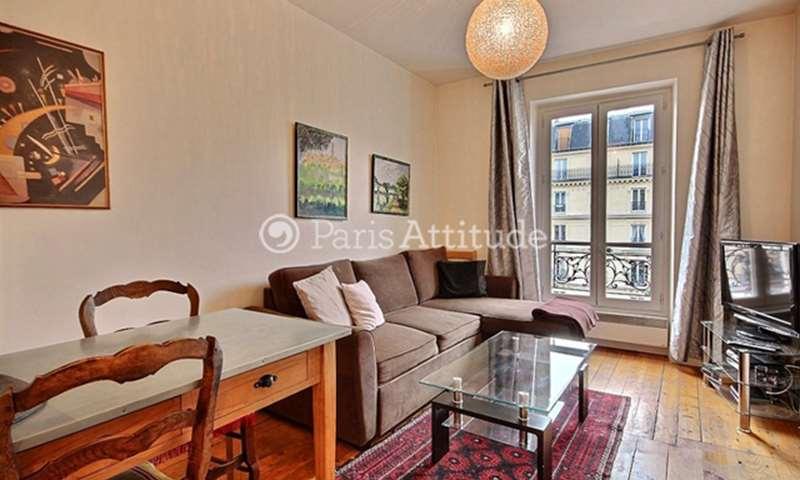 Location Appartement 1 Chambre 30m² rue Monge, 5 Paris