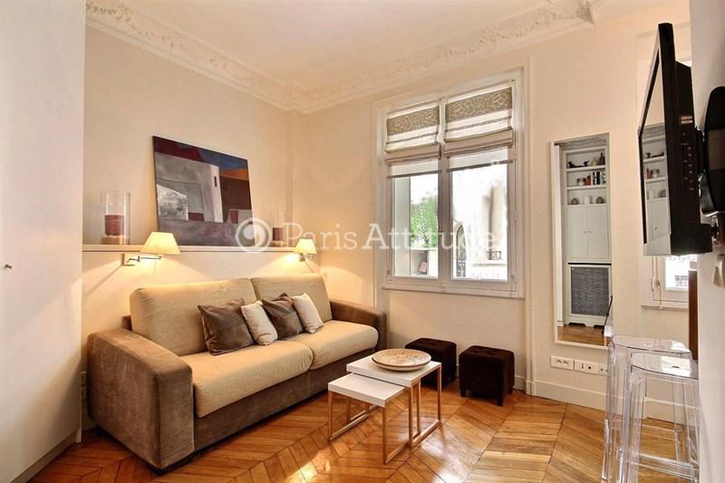 Rent Apartment Studio 23m² avenue du President Kennedy, 75016 Paris