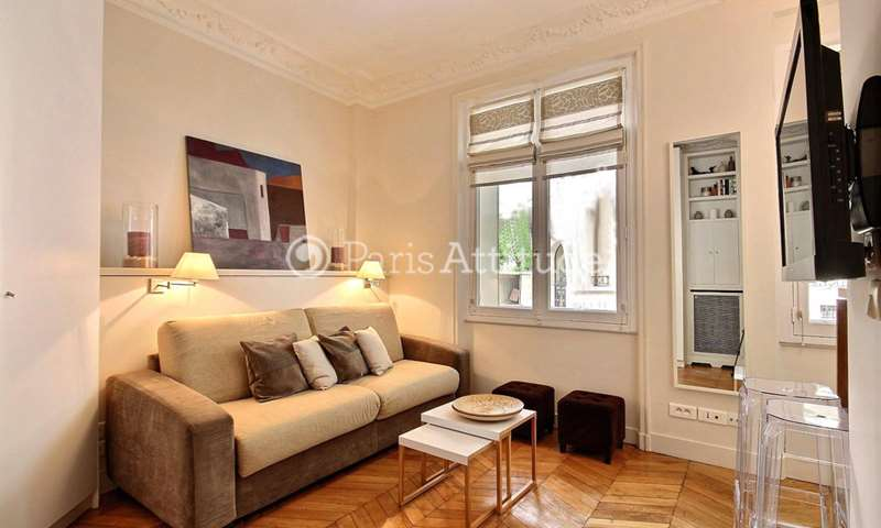 Rent Apartment Studio 23m² avenue du President Kennedy, 75016 Paris