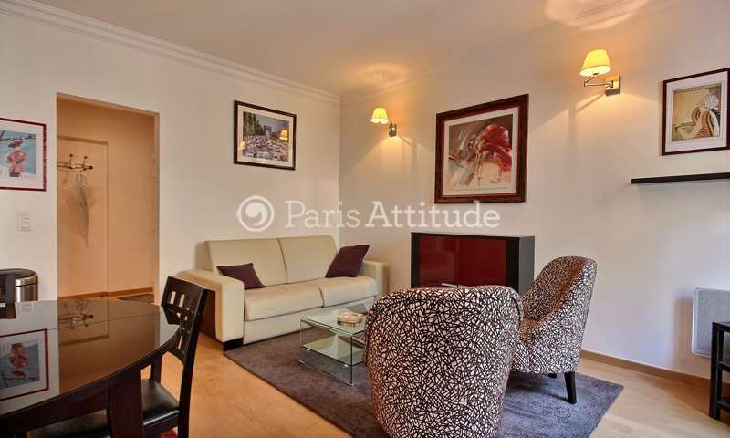 Rent Apartment 1 Bedroom 52m² rue de Monttessuy, 7 Paris