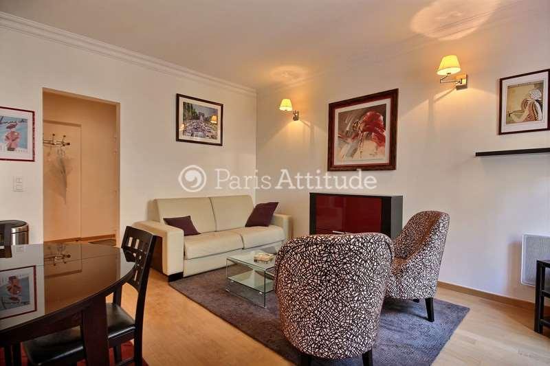 Rent furnished Apartment 1 Bedroom 52m² rue de Monttessuy, 75007 Paris