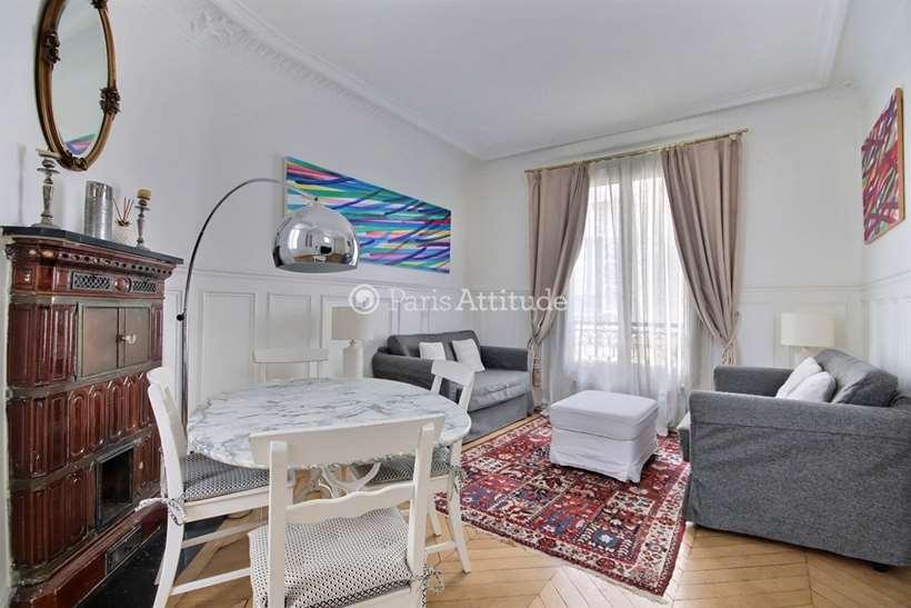 Louer Appartement meublé 2 Chambres 67m² rue de Liege, 75008 Paris
