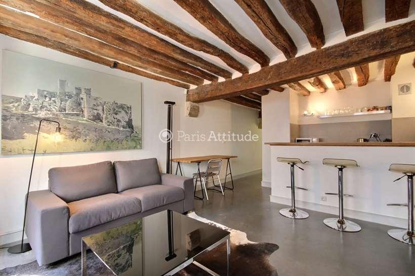 Louer Appartement meublé 1 Chambre 40m² rue Saint Martin, 75003 Paris