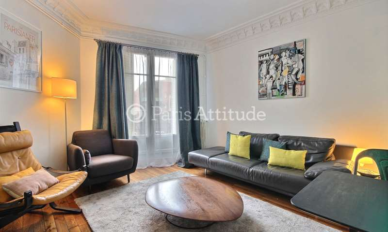 Rent Apartment 2 Bedrooms 52m² rue Duhesme, 18 Paris