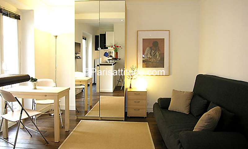 Rent Apartment Studio 20m² rue Monge, 75005 Paris