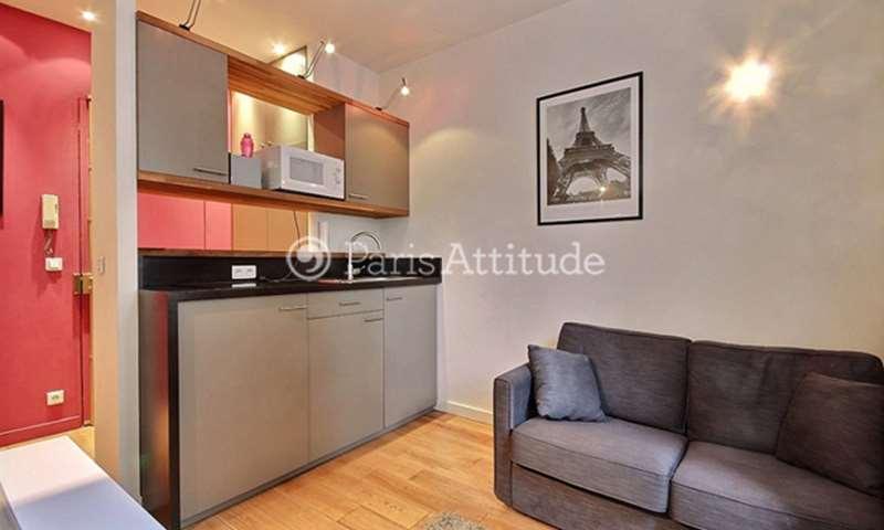 Rent Apartment 1 Bedroom 29m² avenue de Suffren, 15 Paris