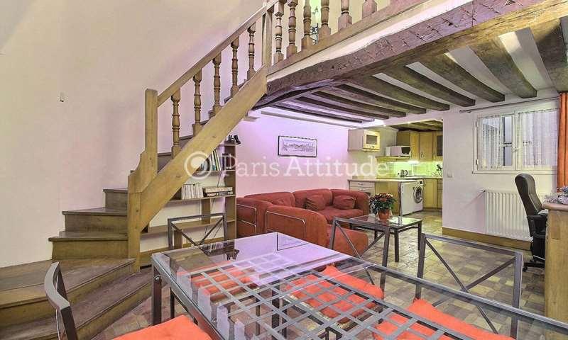 Aluguel Duplex 1 quarto 50m² rue de la Huchette, 5 Paris