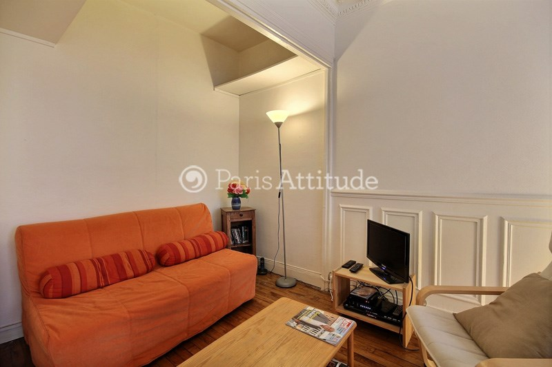 Rent Apartment 1 Bedroom 40m² rue Nobel, 75018 Paris