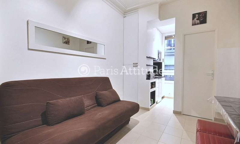Rent Apartment Studio 15m² rue Eugene Carriere, 18 Paris