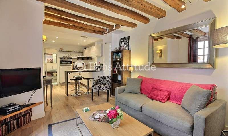 Rent Apartment 1 Bedroom 38m² rue de l Hotel Colbert, 5 Paris