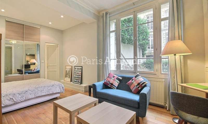 Rent Apartment Studio 26m² rue des Vignes, 16 Paris