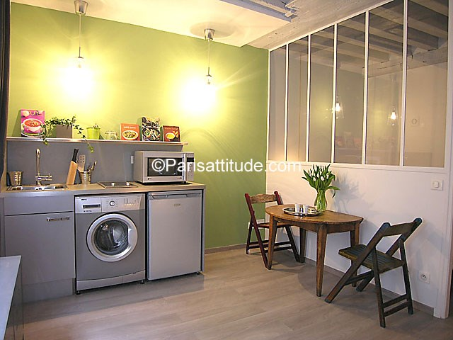 Rent Apartment Alcove Studio 21m² rue du Nil, 75002 Paris