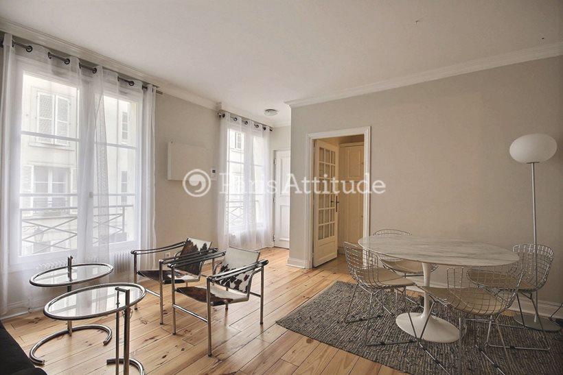 Rent furnished Apartment 1 Bedroom 42m² rue Pierre Leroux, 75007 Paris