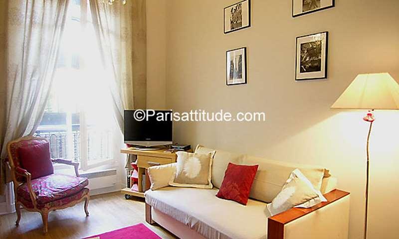 Location Appartement 1 Chambre 40m² rue de Monceau, 8 Paris