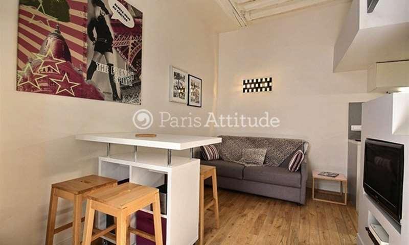 Rent Apartment Studio 19m² rue Saint Honore, 1 Paris