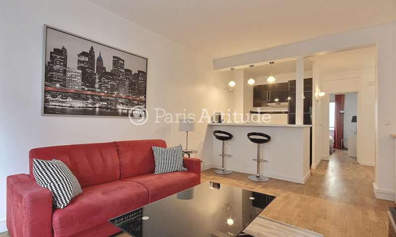 Rent Apartment 1 Bedroom 49m² rue de la Faisanderie, 75016 Paris