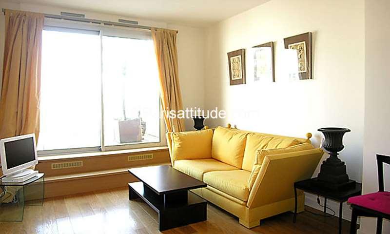 Location Appartement 1 Chambre 42m² rue Sebastien Mercier, 15 Paris