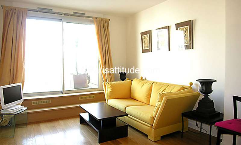 Rent Apartment 1 Bedroom 42m² rue Sebastien Mercier, 15 Paris