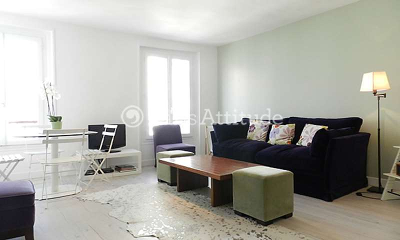 Rent Apartment 1 Bedroom 43m² rue Constance, 18 Paris