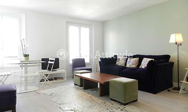 Aluguel Apartamento 1 quarto 43m² rue Constance, 75018 Paris