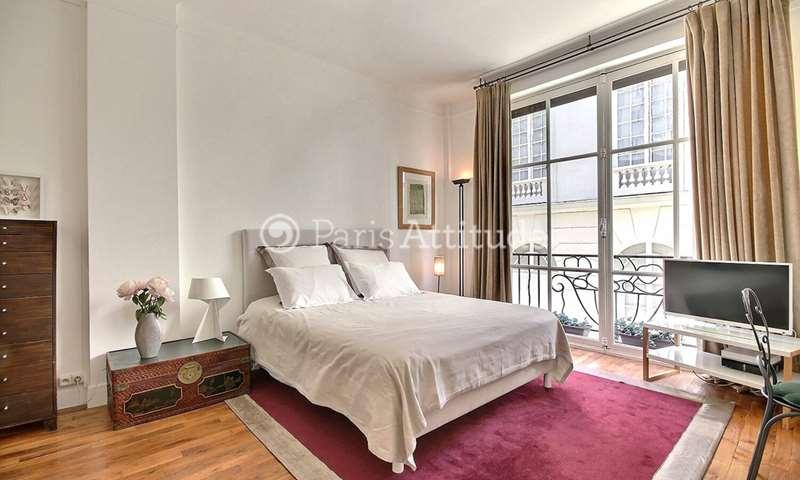 Rent Apartment Studio 28m² villa Wagram, 8 Paris