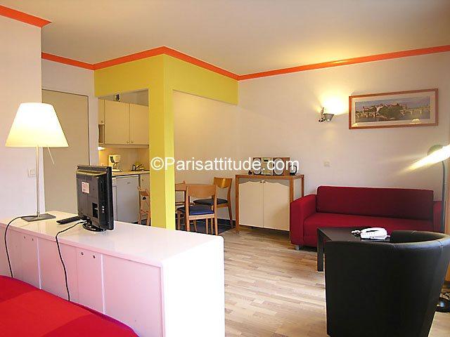 Aluguel Apartamento mobiliado Studio 32m² Cour du Septieme Art, 75019 Paris