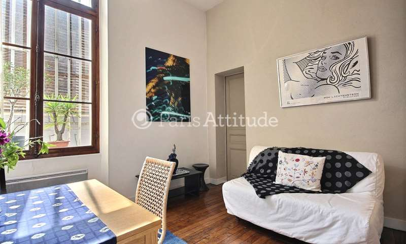 Rent Apartment 1 Bedroom 32m² rue de Nesle, 6 Paris