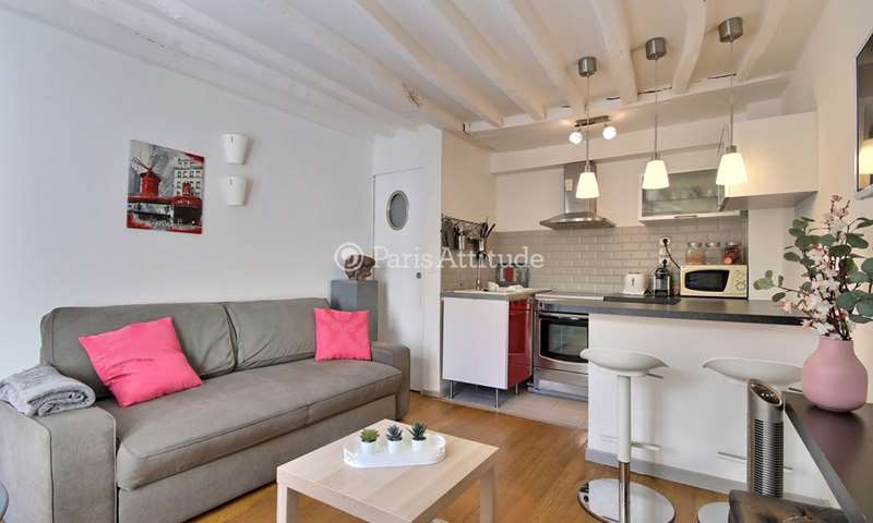 Rent Apartment 1 Bedroom 28m² rue de Sevres, 75015 Paris