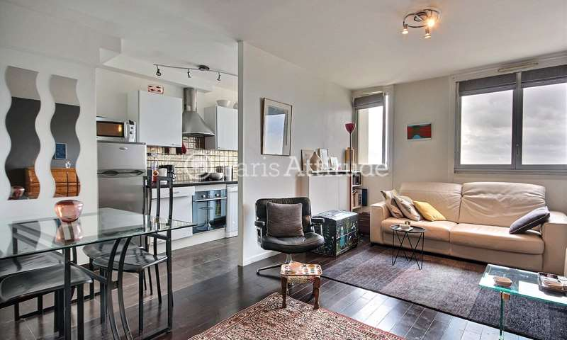 Rent Apartment 1 Bedroom 43m² Quai de la Seine, 75019 Paris