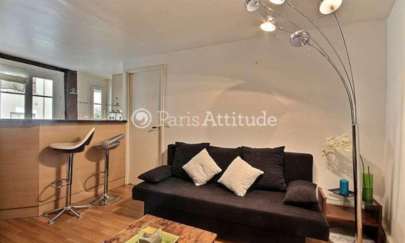Rent Apartment 1 Bedroom 40m² rue du Roi de Sicile, 4 Paris