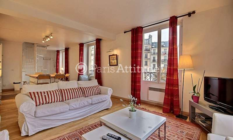 Rent Duplex 2 Bedroom 82m² boulevard de Bonne Nouvelle, 75002 Paris