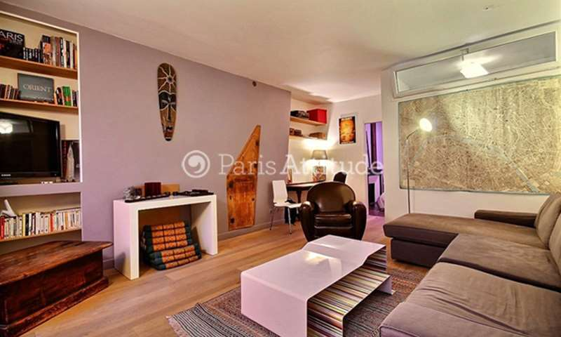 Rent Apartment 1 Bedroom 55m² rue de Lancry, 75010 Paris