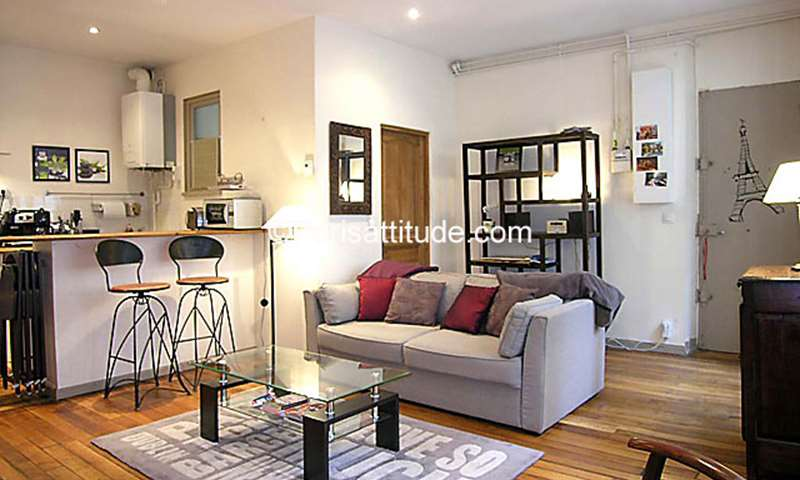 Rent Apartment 1 Bedroom 44m² rue du Temple, 4 Paris