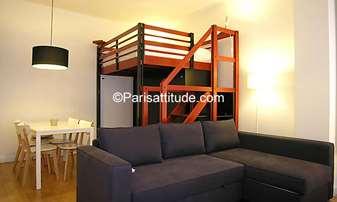 Location Appartement Studio 25m² rue Tiphaine, 15 Paris