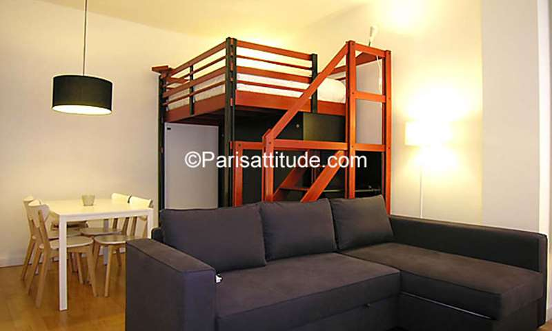 Rent Apartment Studio 25m² rue Tiphaine, 75015 Paris