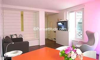 Rent Apartment Studio 32m² rue de Normandie, 3 Paris