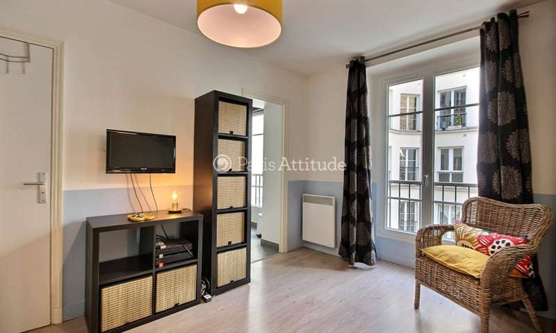 Rent Apartment Studio 24m² rue de la Folie Mericourt, 75011 Paris