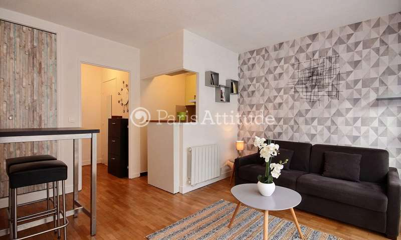 Rent Apartment Studio 24m² rue Lamarck, 18 Paris