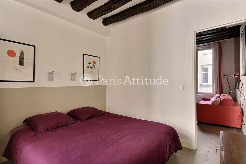 Rent furnished Apartment 1 Bedroom 29m² rue Tiquetonne, 75002 Paris