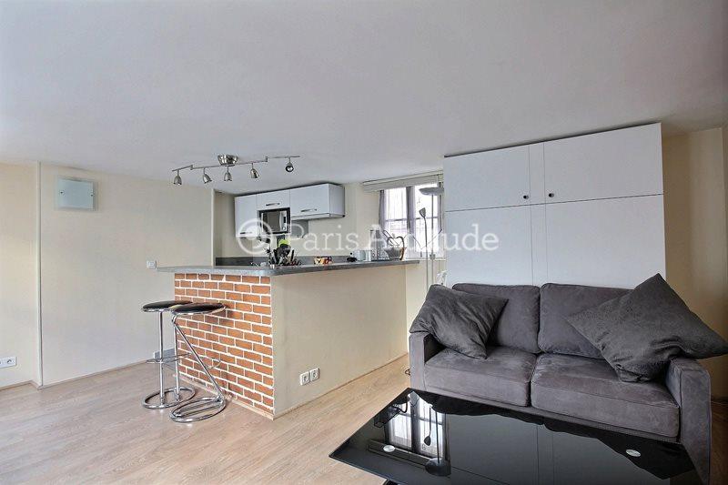 Louer Appartement meublé Studio 30m² rue Quincampoix, 75003 Paris