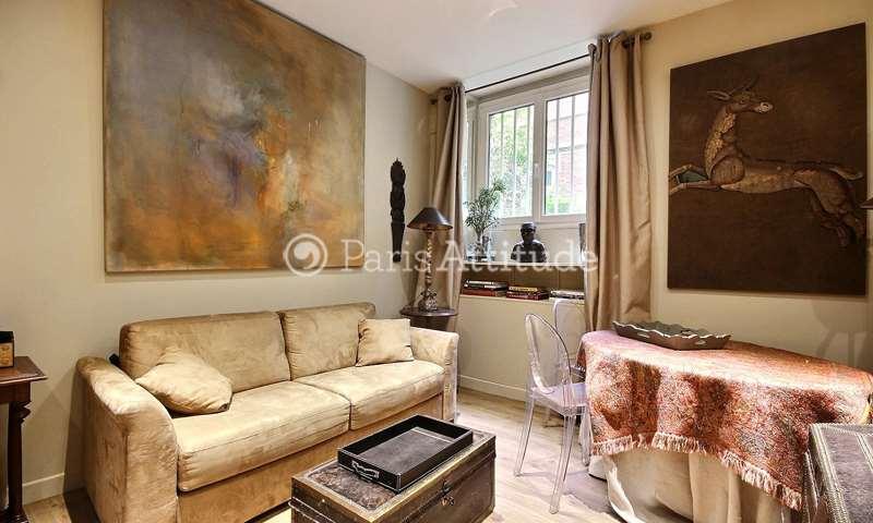 Rent Apartment Alcove Studio 38m² Cité Martignac, 7 Paris
