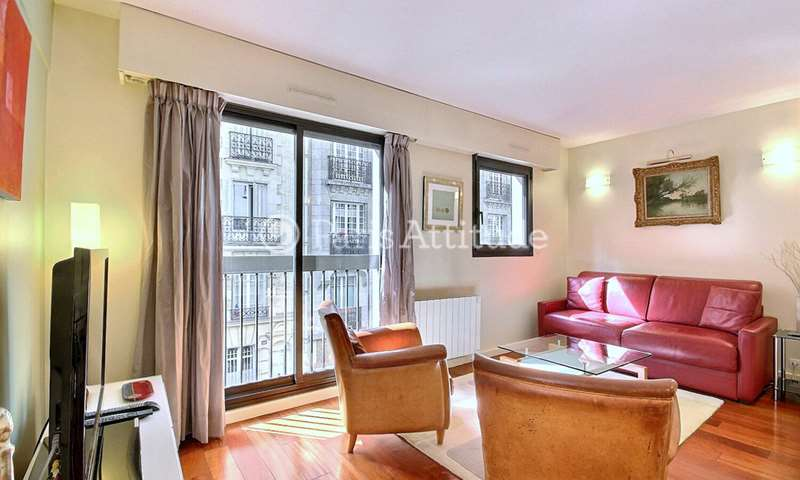 Rent Apartment 1 Bedroom 47m² rue Chanez, 75016 Paris