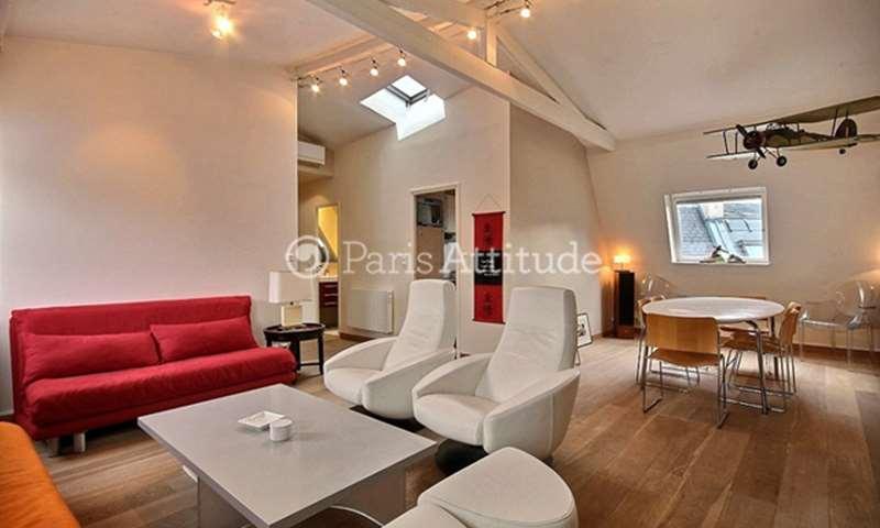 Rent Apartment 1 Bedroom 63m² rue Pierre Guerin, 75016 Paris
